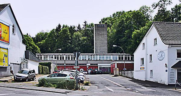 Die Alte Feuerwache an der oberen Hauptstraße