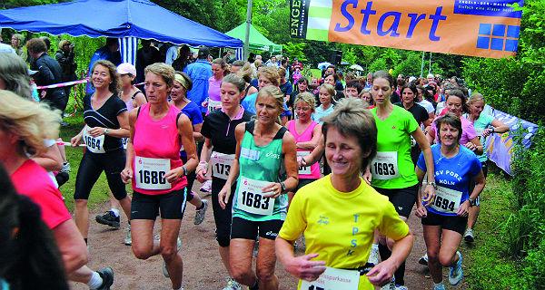 Start zum Bensberger Frauenlauf
