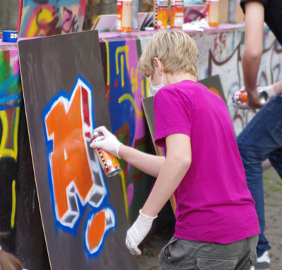 Straßenkunst im Kunstmuseum Villa Zanders