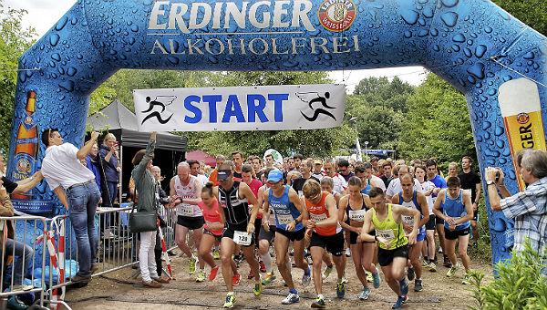 Startschuss zum 10-km-Lauf