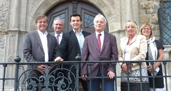 Michael Zalfen, Robert Winkels, Marcel Kreutz, Klaus Waldschmidt, Schöttler-Fuchs