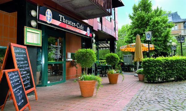 Das Theatercafé - zwischen Bergischem Löwen, Markt und Kunstmuseum Villa Zanders