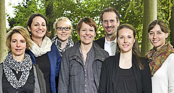 Das Psychologie-Team in Leverkusen