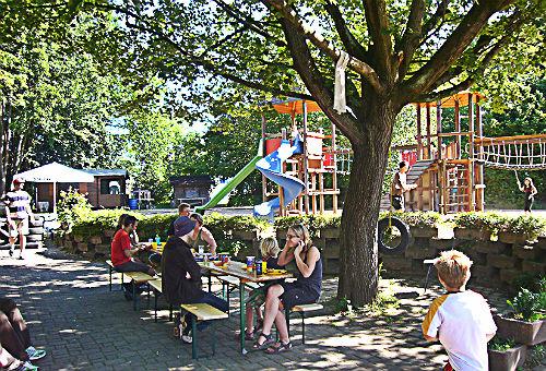 Der Abenteuerspielplatz in Gronau (Bergisch Gladbach)