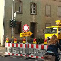 Abriss beginnt – Jägerstraße auf längere Zeit gesperrt