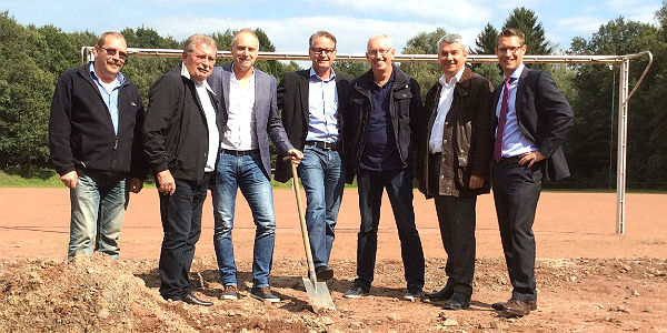 Horst Küsters, Rainer Adolph, Thomas Kaufmann, Guido Garnies, Volker Weirich, Lutz Urbach und Oliver Engelbertz (KSK Köln)