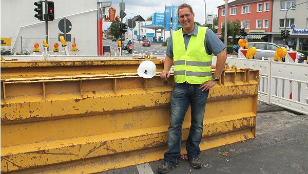 Stefan Höller, der neue Baustellenmanager