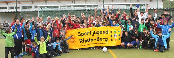 Teilnehmer des Fußballcamps 2012