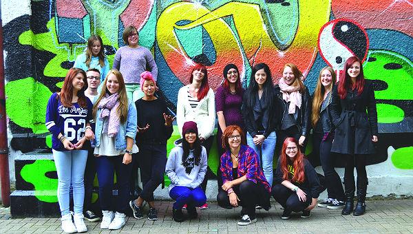 Das Jugendkulturpreisteam aus Bergisch Gladbach