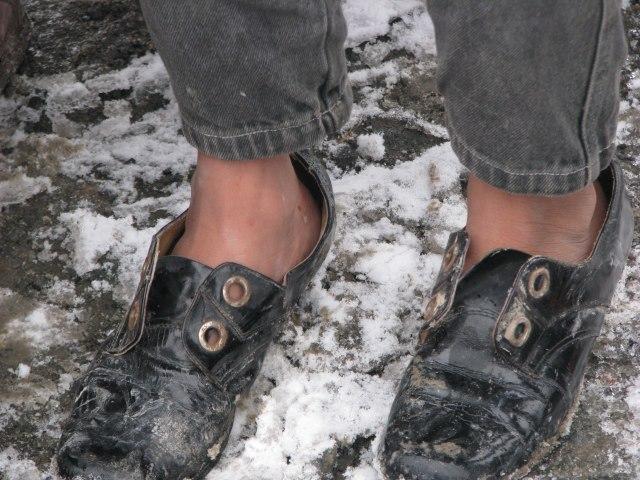 Neue Schuhaktion für Bulgarien startet