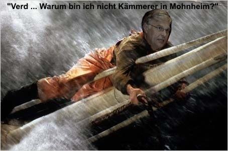 Jürgen Mumdey  kämpft gegen den Untergang