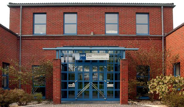 Die Geschäftsstelle der IHK in Leverkusen - zuständig auch für RheinBerg. Foto: Jan Weingarten