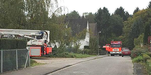 Einsatz der Feuerwehr Am Rodenbach