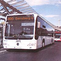 400er soll Umsteigen auf den Bus attraktiver machen