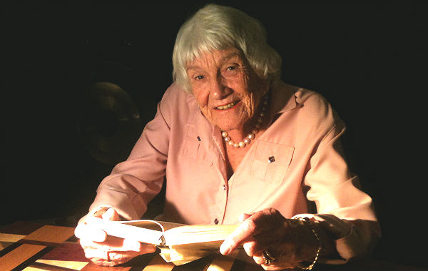 Ursula Abels im Bensberger Puppenpavilon