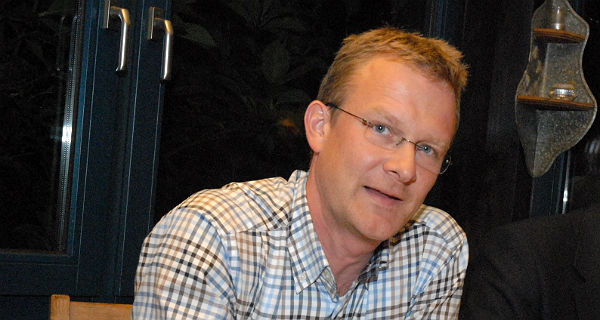 Maik Außendorf, verkehrspolitischer Sprecher der Grünen