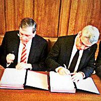 Stadt unterschreibt Vertrag mit Belkaw auf 20 Jahre