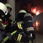 Feuerwehr verhindert Explosion im Winterdorf