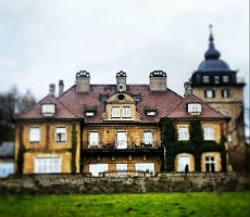 Das Schlosshotel Lerbach im Herbst