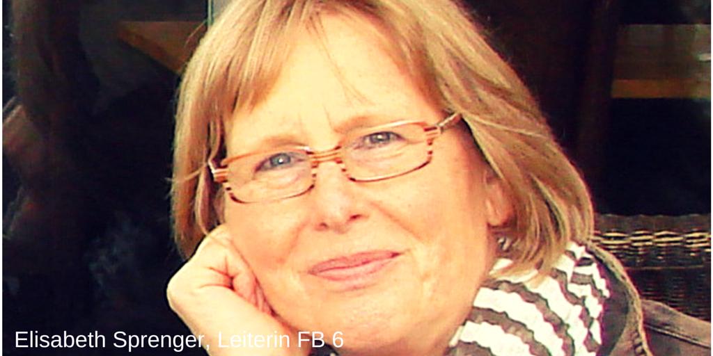 """Die neue """"Bauherrin"""": Elisabeth Sprenger"""