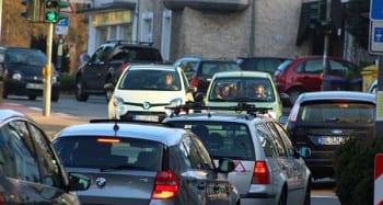 Vor allem der Autoverkehr verursacht in Bergisch Gladbach Lärm