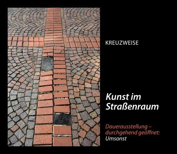 Kreuzweise - Rückseite Konrad-Adenauer-Platz. © Ansichtssache Klaus Hansen 2015