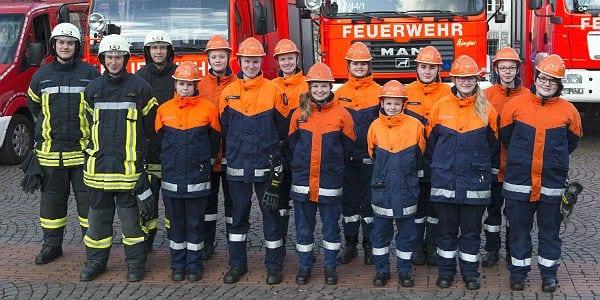 Die Jugendfeuerwehr der Feuerwehr Bergisch Gladbach