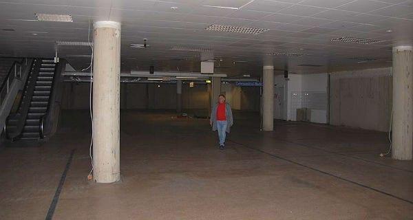 Das ausgeräumte Löwencenter im Frühjahr 2009. Foto: Hellmann