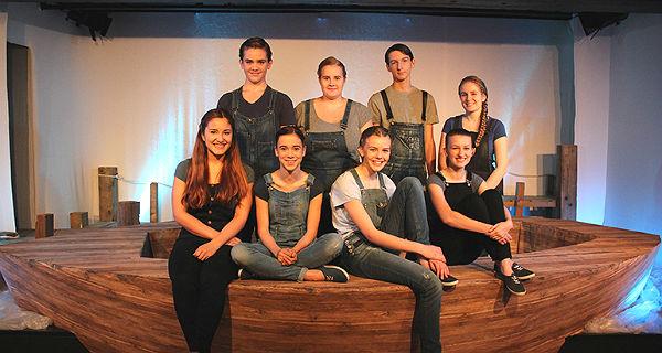 Das Junge Ensemble in der Produktion von 2014