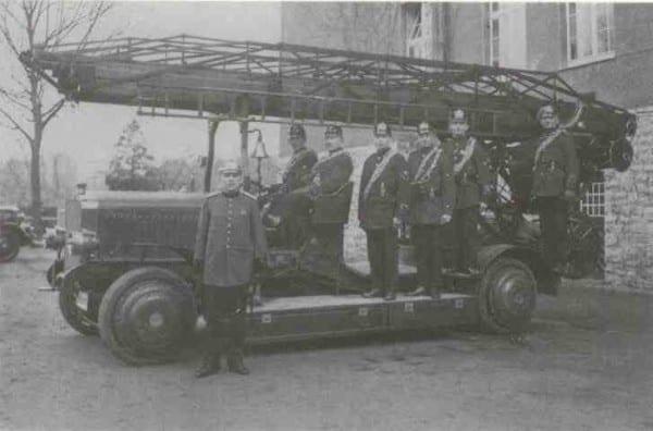Die erste Drehleiter wurde 1928 angeschafft