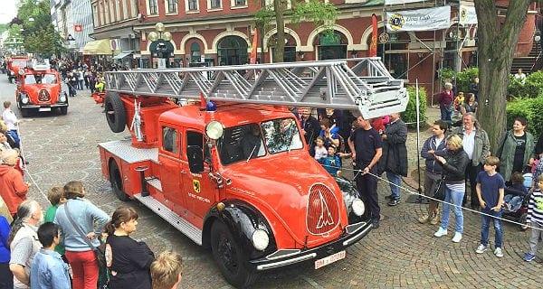 Feuerwehr-Sternfahrt 2015 Bergisch Gladbach. Foto: Feuerwehr Bergisch Gladbach