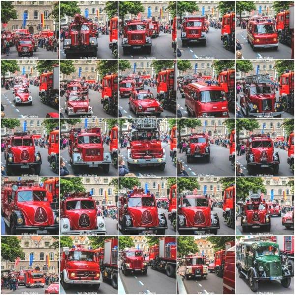 Feuerwehr-Sternfahrt 2015 Bergisch Gladbach. Foto: HG Hecking