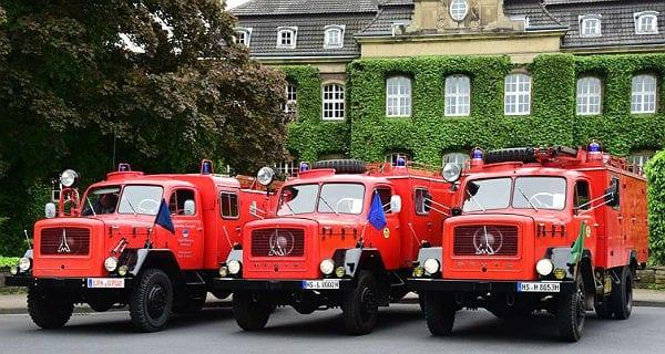 Feuerwehr-Sternfahrt 2015 Bergisch Gladbach. Foto: Jürgen Truckenmüller