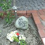 Grabmal in Bensberg gedenkt der Flüchtlingstoten