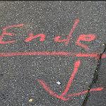 Kunst im Straßenraum (4): Das ist nicht das Ende