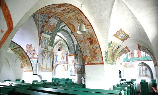 "Die ""bunte Kirche"" in Lieberhausen"