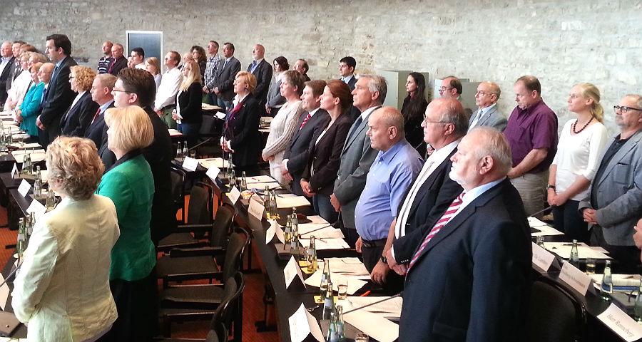 Der neu gewählte Stadtrat im Herbst 2014