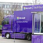 Microsoft Tech Truck an der FHDW