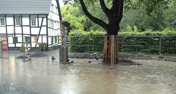 Hochwasser Buchmühle 600
