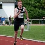 Jan Vogt sprintet in Wetzlar 200 Meter in 22,19 Sekunden