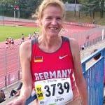 Monika Gippert bei der WM auf Platz vier