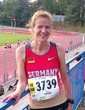 Monika Gippert in Lyon