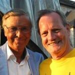 Schirmherr Wolfgang Bosbach und Cheforganisator Paul Falk