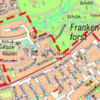 Kanalbau in Kippekausen, Refrath und Frankenforst