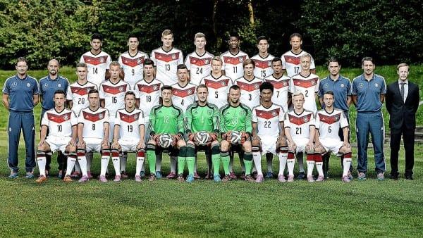 Die deutsche U19-Nationalmannschaft. Foto: DFB