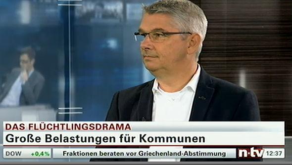 Lutz Urbach im Interview bei n-tv