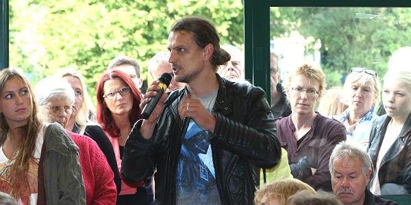 Szymon Bartoszewicz, Flüchtlingskoordinator der Gnadenkirche