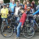 Fahrräder sorgen für Mobilität, Kooperation für Erfolg