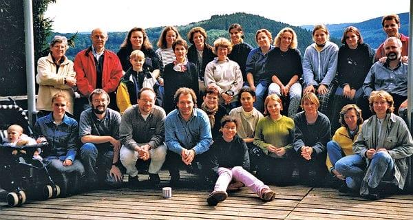 Ein Chorausflug vor 20 Jahren