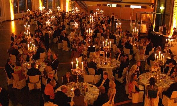 Dinner in stilvoller Atmosphäre